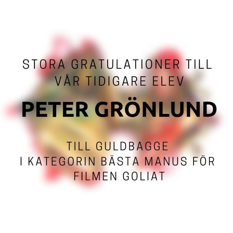 Guldbagge till Peter Grönlund