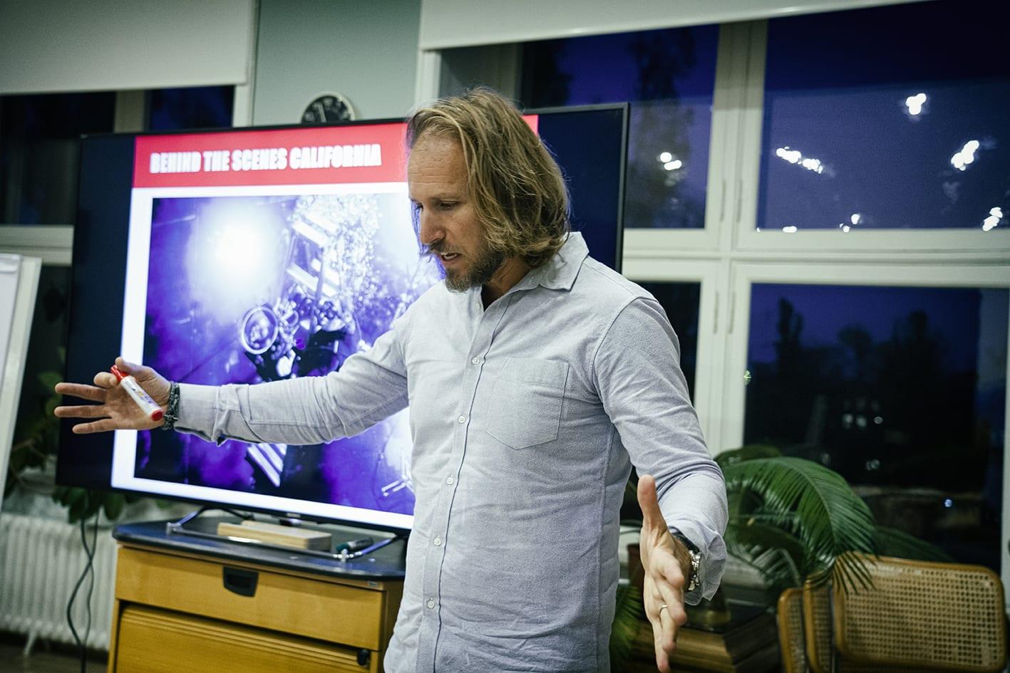 Masterclass with IMAX director Daniel Ferguson